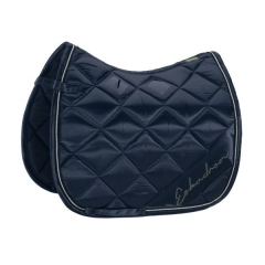 Schabracke Satin Diagonal navy